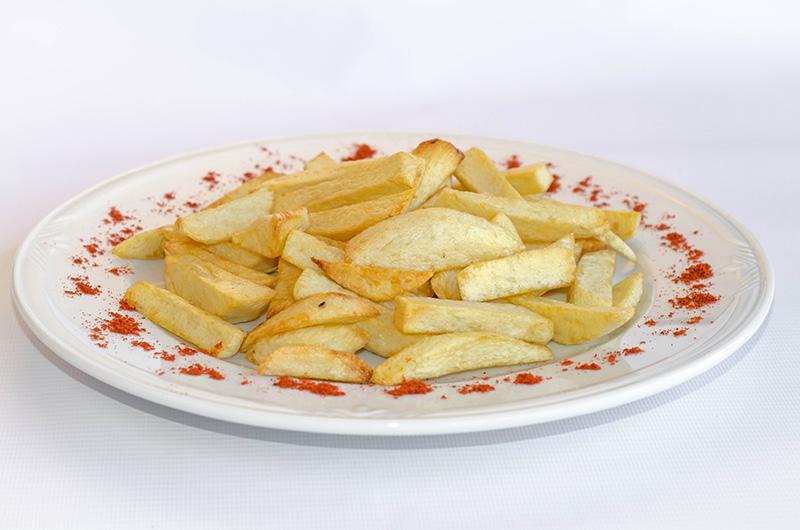 Къызартылгъан къартоп